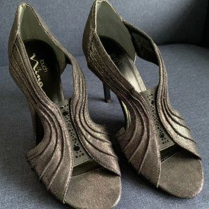 *Sale* Touch of Nina Cyrilla Heels Black Shimmer